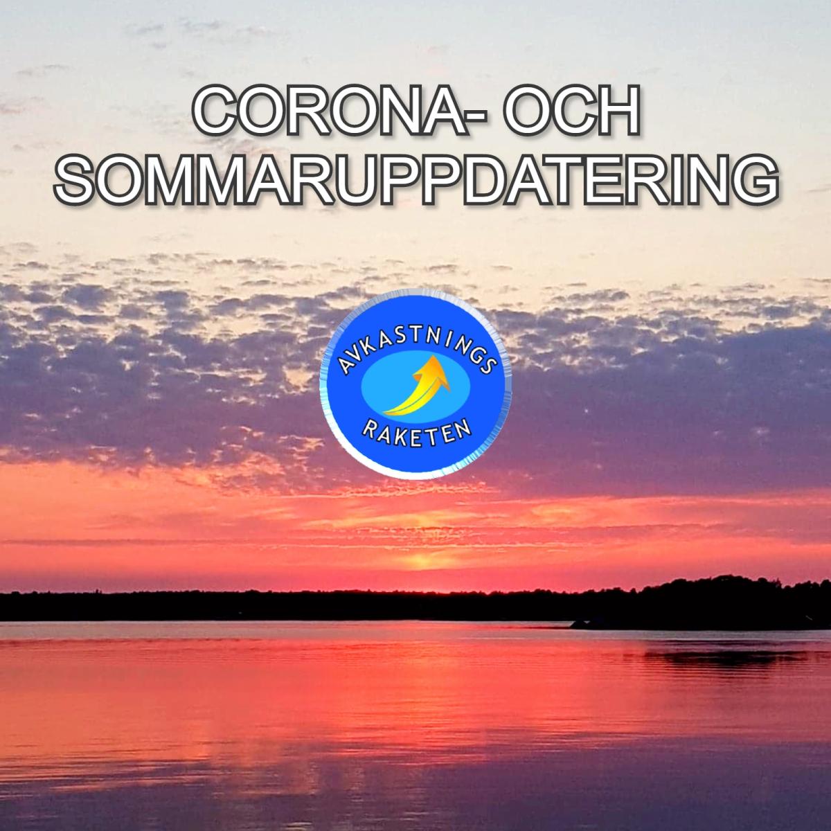 Corona- och sommaruppdatering